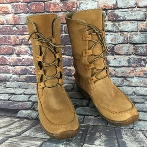Timberland Genuine Leather tall Boots women's  10